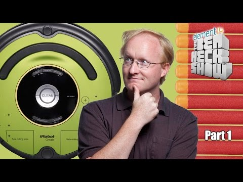 Ben Heck's Roomba Nerf Dart Collector Part 1