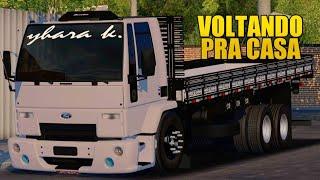 WTDS VIDA REAL [#124] BOTANDO PRESSÃO NO FORD CARGO 2428 VOLTANDO PRA MINHA CASA!