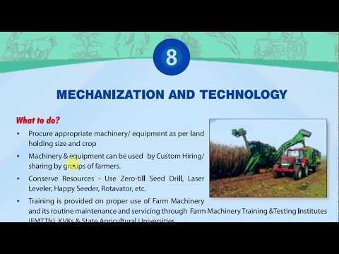 Most Important Scheme- Sub- Mission on Agricultural Mrchanisation