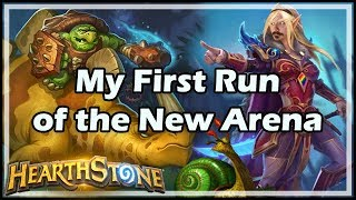 [Hearthstone] My First Run of the New Arena