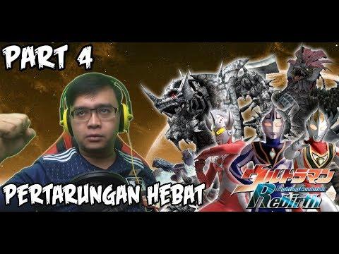 Ultraman Fighting Evolution REBIRTH (PS2) Part 4 - PERTARUNGAN HEBAT !!!