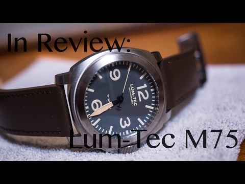 In Review: Lüm-Tec M75 - The Titanium Titan - Clock Stock & Barrel