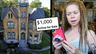 Buying An Abandoned Victorian Mansion for $1,000