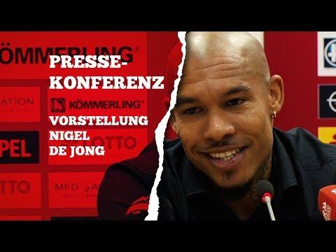 Pressekonferenz zur Vorstellung von Nigel de Jong | 05er.tv | 1. FSV Mainz 05