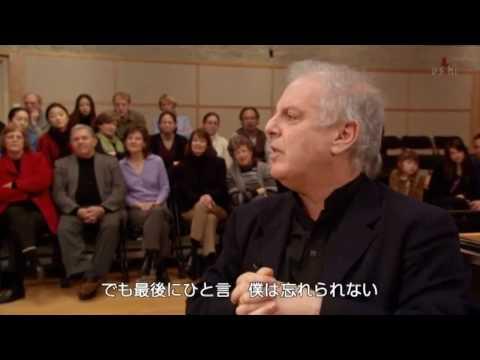 Barenboim talks about music