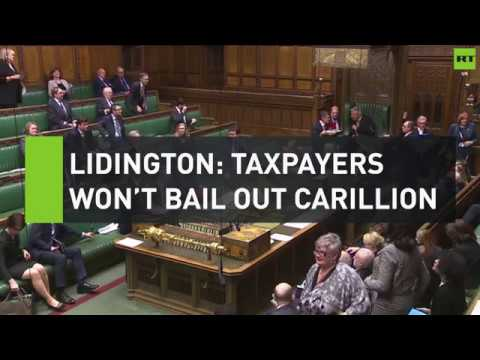 Lidington: UK taxpayers won't bail out Carillion