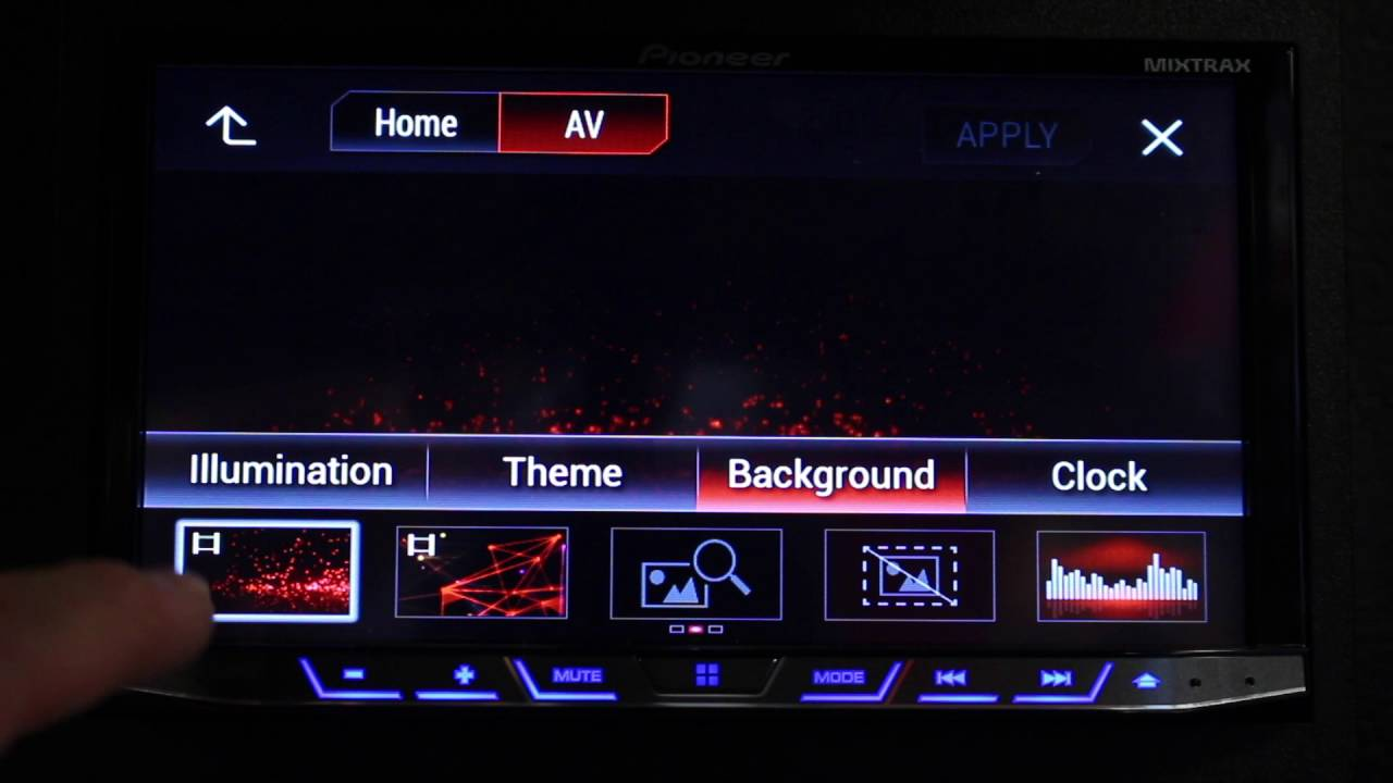 How To Find Your Missing Animated Backgrounds On Your Pioneer Nex Radio Youtube