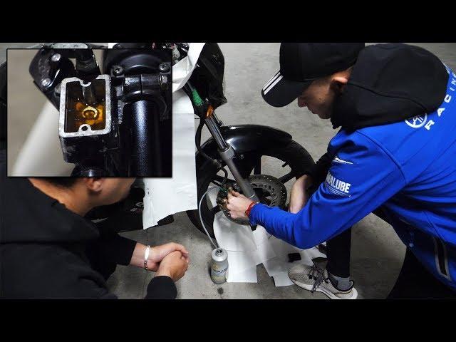#PBL 5 : Première purge de frein depuis 13 ans ! (As-tu déjà vu une bavette avec un balais ? 😏)