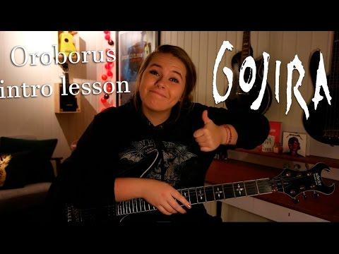 Oroborus - Gojira intro guitar lesson   Metal Talk