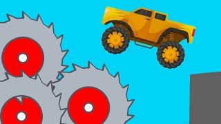Epic High Speed Crashes  Phun Algodoo Destruction #2