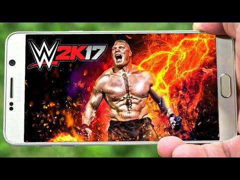 INCRÍVEL! WWE 2K17 Para CELULAR ANDROID/Super Atualizado COM NOVOS  PERSONAGENS HD! (Mod PSP)
