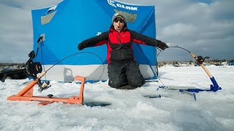 Automatic Fisherman vs Jaw Jacker  (ICE FISHING TIPS)