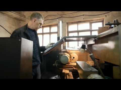 Изготовление шкафов металлических под одежду. Видео производства.
