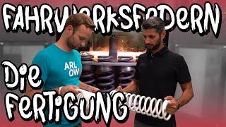 Zu Besuch bei H&R Teil 2 - So wird eine Feder gefertigt! | Philipp Kaess |