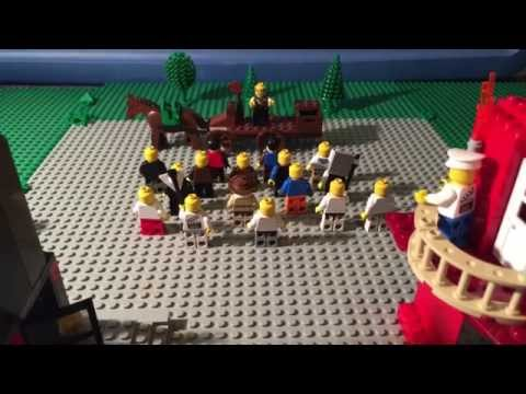 The Haymarket Affair (Lego Animation)