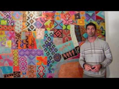 Oggo exposition de peintures art paintings exhibition - Technique peinture bois ...