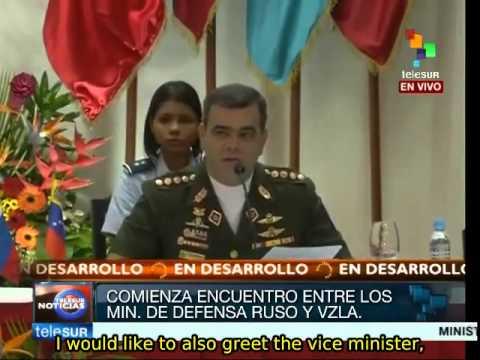 Russian, Venezuelan defense ministers meet in Caracas