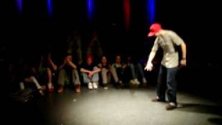 TEMPSICK [Funky Masons] vs. BIENIO [Keep it Funky Crew] - STREETDANCE SESSION NBDS POPPIN part I