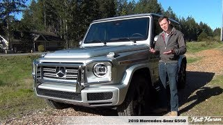 Review: 2019 Mercedes-Benz G550 - SO Much Better than the Old G-Wagon!