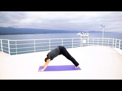 3 Minute Workout -- Yoga at Sea with Princess Cruises
