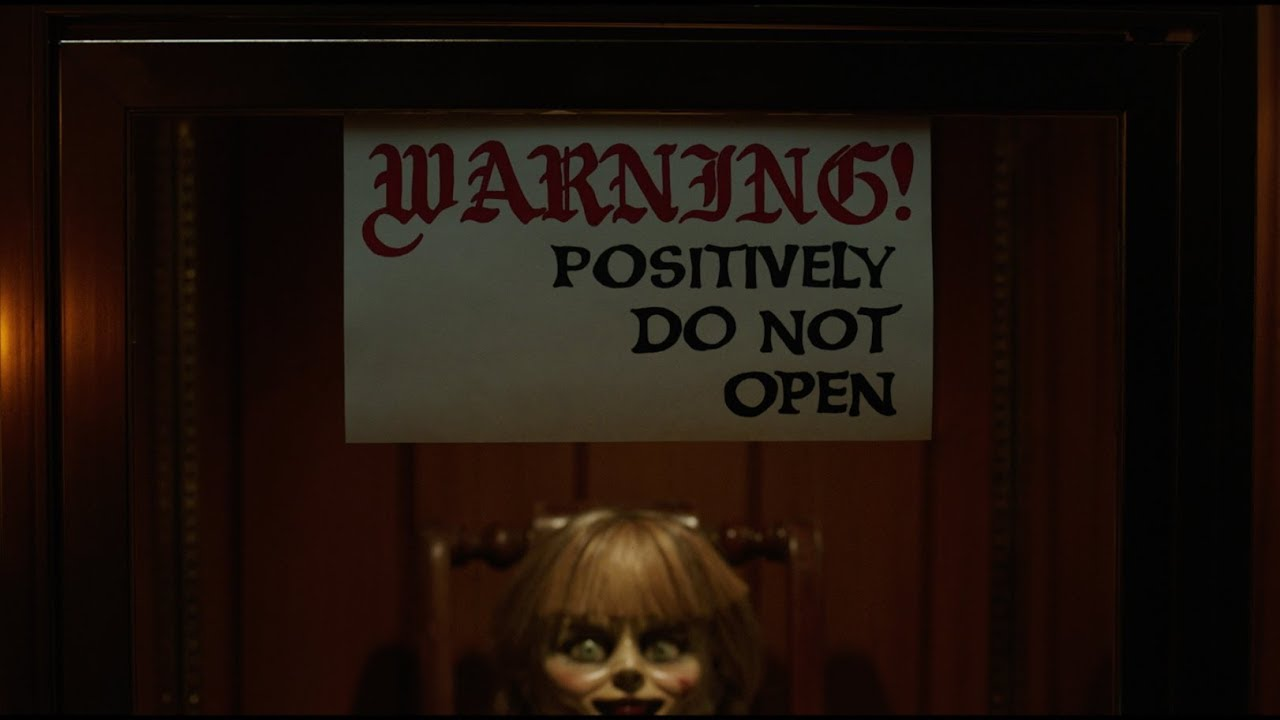 Annabelle Comes Home Official Trailer Youtube