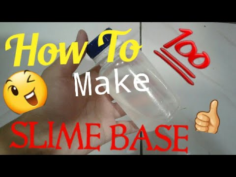 How to make slime base wihout biosoft youtube how to make slime base wihout biosoft ccuart Image collections