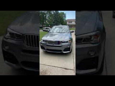 2016 BMW X3 - Ceramic Coating and Paint Correction Specialist, Bay City, MI.