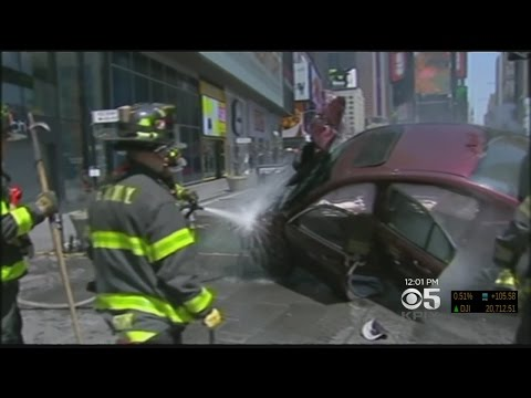 One Dead, Nearly Two Dozen Injured After Driver Plows Into Times Square Pedestrians