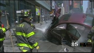 one dead nearly two dozen injured after driver plows into times square pedestrians