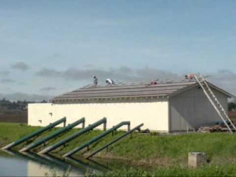 Balletto Vineyards:  Sun Source Solar Energy Broker & Pathways Solar Energy Broker Install