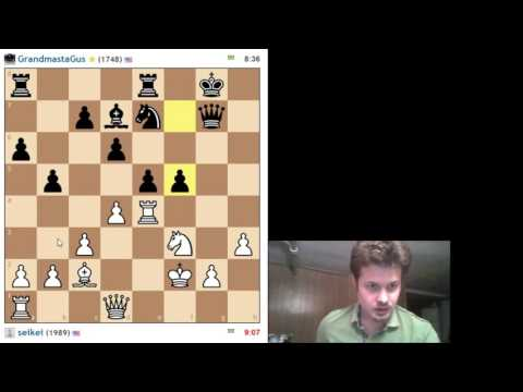 Rapid Chess Live Commentary vs GrandmastaGus #3 Ruy Lopez Anti-Berlin as White