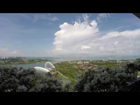 Singapore Harbour Timelapse