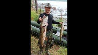 Рыбалка на Богучанском водохранилище 2018. Fishing at the Boguchanskoe reservoir.