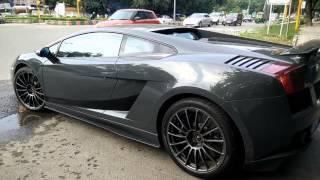 Grigio Telesto Lamborghini Gallardo LP550-2
