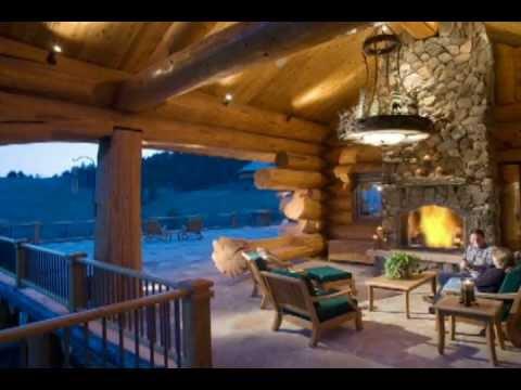 Très Family Log Cabin Homes - Pioneer Log Homes of BC - YouTube WA16