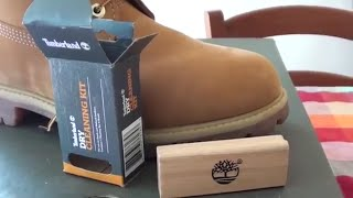 Timberland Dry Cleaning Kit unboxing + review