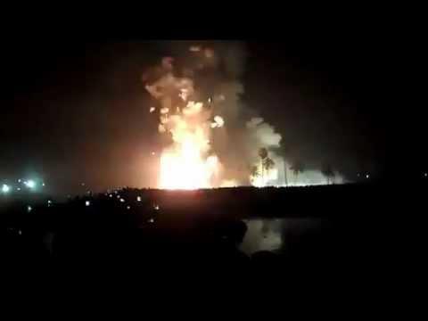Nemmara Vallangi Vela Final Fireworks