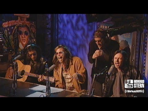 """Aerosmith """"Pink"""" (Acoustic) on the Howard Stern Show in 1997"""