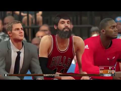 NBA 2k17 - New York Knicks vs Chicago Bulls | Full Game (1080p 60fps)