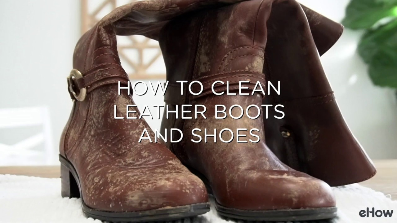 1d792fc44d9d How to Clean Leather Boots and Shoes - YouTube