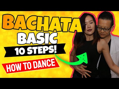 10 Basic Figures of Bachata - How To Bachata Dance For Begin