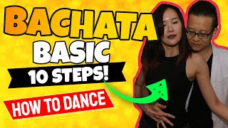 10 Bachata Basic Steps - How To Dance For Beginners