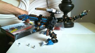 Zoids HMM Geno Saurer Custom Update - V.A.S.