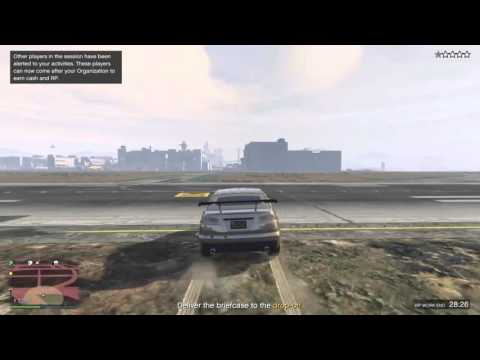 GTA 5 - EASY WAY TO DO Hostile Take Over (LSIA) VIP Mission