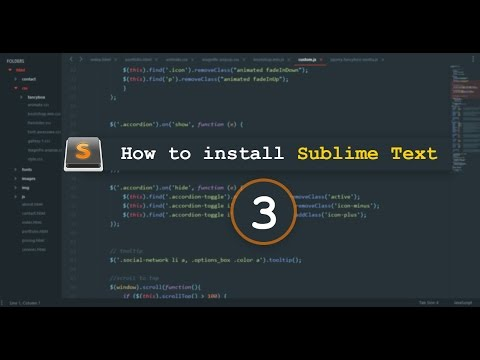 How Install Sublime Text 3 With Material Theme In MS Window 10 [SIMPLE Trick]