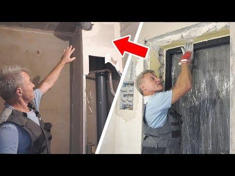 Осмотр квартиры в новостройке. Скрытые проблемы, начало ремонта.