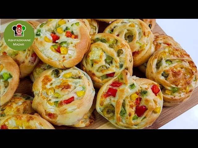 Pizza Rolls | رول پیتزا