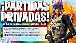 ¡¡¡FORTNITE PARTIDAS PRIVADAS CON SUSCRIPTORES!!! ByCarloX directo fortnite