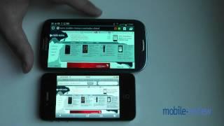 Сравнение Samsung Galaxy S3 с Apple iPhone 4s(, 2012-06-05T20:27:22.000Z)