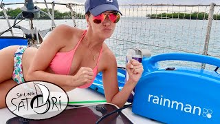 Rainman Watermaker: 10-Minute Challenge! Kelly vs. Rainman! (Sailing Satori) OTH:8